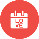 Valentine Day Care Icon