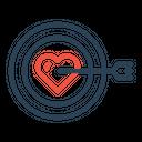 Valentine Target True Icon