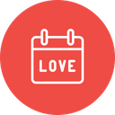 Valentine Love Reminder Icon