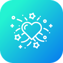 Valentine Day Decoration Icon
