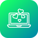 Valentine Love Chat Icon