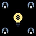 Value Teamwork Collaboration Icon