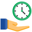 Value Of Time Save Time Care Of Time Icon