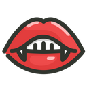 Vampire Halloween Dracula Icon