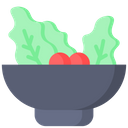 Veg Food Salad Bowl Salad Icon