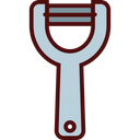 Vegetable Peeler Icon