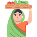 Vegetable Vendor Icon