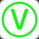 Vegetarian Brand Logo Icon