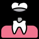 Veneers Material Layer Teeth Crown Icon