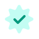 Verified Approved Check Icon