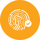 Verify fingerprint Icon
