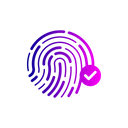 Verify thumbprint Icon