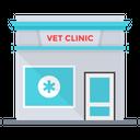 Vet Clinic Hospital Animals Hospital Icon