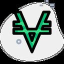 Viacoin Technology Logo Social Media Logo Icon