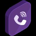 Viber Social Media Icon