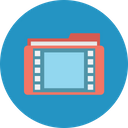 Multimedia File Movie File Video Folder Icon
