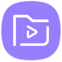 Video Library Samsung Icon