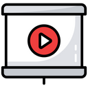 Video App Video Player Video Editor Icon