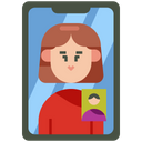 Video Call Video Chat Communication Icon