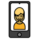 Communication Interaction Videocalling Icon