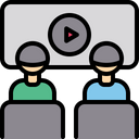 Video Conference Conference Video Calling Icon