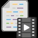 Video File Video Video Encoder Icon