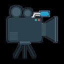 Camera News Recording Icon
