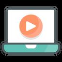 Video Tutorial Books Education Icon