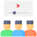 Viewers Online Video Viewers Users Icon