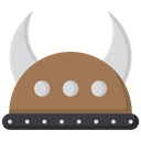 Viking Helmet Knight Helmet Warrior Icon