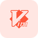 Vim Technology Logo Social Media Logo Icon