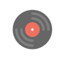 Vinyl Disc Dj Music Icon