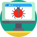 Development Virus Programming Icon