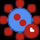 Epidemic Infected Virus Icon