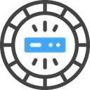 Big Data Database Storage Icon