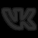 Vk Logo Social Media Icon
