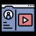 Vlogger Youtuber Profile Icon