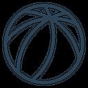 Volleyball Beach Ball Icon