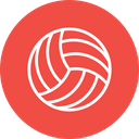 Volleyball Beach Ball Icon