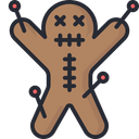 Voodoo Voodoo Doll Black Magic Icon