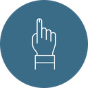 Vote Sign Finger Icon
