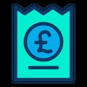 Voucher Pound Icon