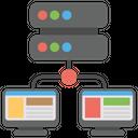 Vps Web Hosting Personal Server Web Hosting Icon