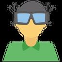 Vr Goggles Vr Eyewear Virtual Reality Icon