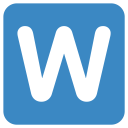 W Characters Character Icon