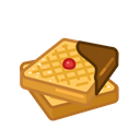 Waffles Food Meal Icon