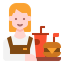 Waitress Icon