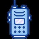 Walkie Talkie Handheld Transceiver Icon