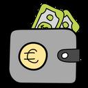 Wallet Billfold Notecase Icon