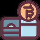 Bitcoin Wallet Cash Icon